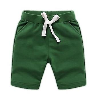 Baby Estate Moda Pantaloni di cotone Bambini Solid Beach Pantaloncini Pantaloni