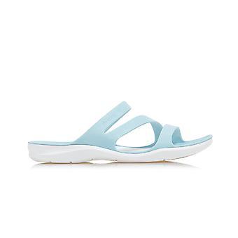 Crocs Swiftwater Sandália 2039984JQ sapatos femininos universais de verão
