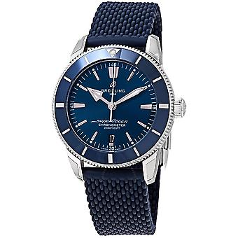 Breitling Superocean Heritage II Automatic Chronometer Blue Dial 44 mm Men's Watch AB2030161C1S1