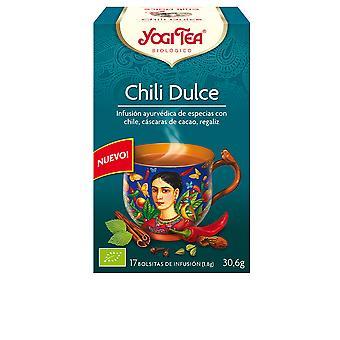 Yogi Tea Chili Dulce Infusión 17 X 1,8 Gr Unisex