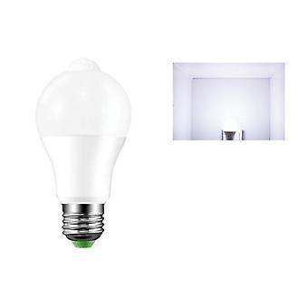 E27 Led Pir Motion Sensor Lampa 10w 85-265v Zmierzch do świtu Noc Żarówka Strona główna