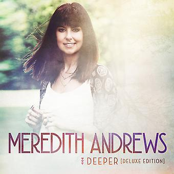 Meredith Andrews - Deeper (Deluxe Edition) [CD] USA import