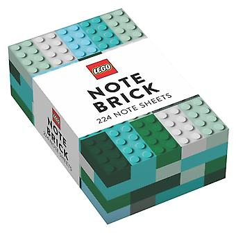 LEGO Note Brick BlueGreen by Created by LEGO R