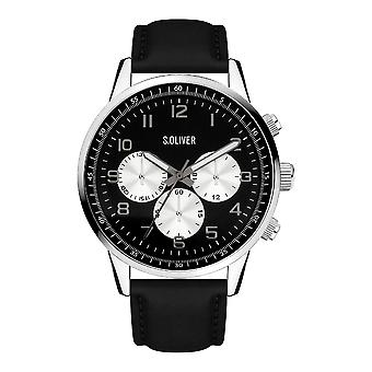 s.Oliver SO-4111-LC Men's Watch Chronograph