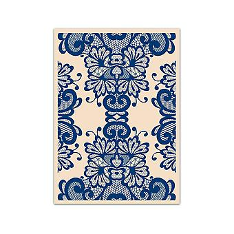 Tattered Lace Ivory A5 Embossing Folder