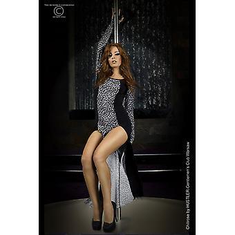 Long dress CR3405 grey