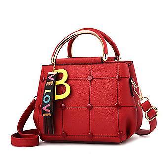 Große Kapazität Mode Handtaschen Leder Umhängetasche für Mädchen oder Frauen