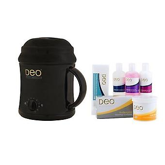 DEO Heater Kit for Warm Crème & Hot Wax Lotions - Black - 10 Settings - 1000cc