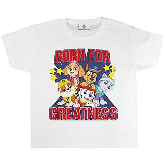 Paw Patrol Girls Born For Greatness T-Shirt