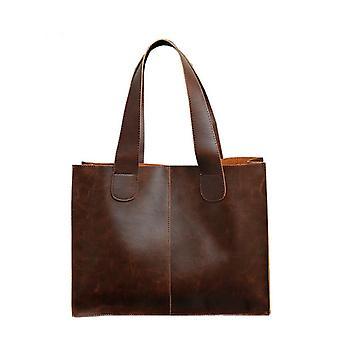 Miesten salkku, Pu nahka käsilaukku, Tietokoneen kannettava laukku