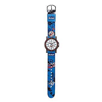 Scout 280375009 - Boy's wristwatch, analog, quartz, fabric