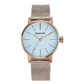 Gigandet - Reloj de mujer, modelo minimalista. Cuarzo, reloj analógico, correa de acero inoxidable, malla Ref. 4045425026293