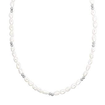 NOELANI Sterling 925 silver women's necklace, with pearl