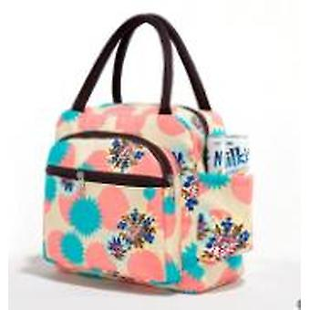 Portable Insulated lunch Bag Pattern Food Picnic Women Cooler Storage Bento Totes bolsa termica