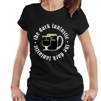 Guinness Den mørke fantastiske T-skjorten for kvinner