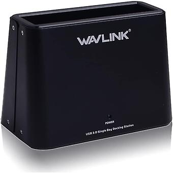 USB 3.0 zu SATA Externe Festplatten-Dockingstation für 2,5 oder 3,5 Zoll HDD, SSD