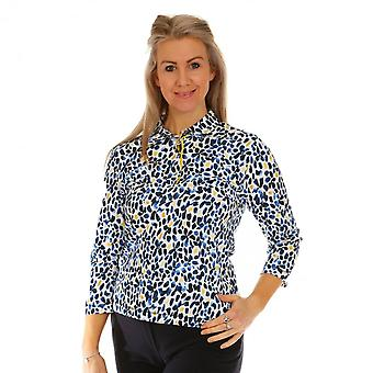 RABE Rabe Blue And Yellow Top 46-021351