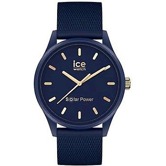 Ice Watch - ICE solar power - Navy gold - Medium - 3H - 018744