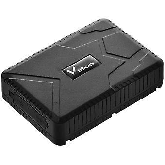Winnes GPS Tracker Car GPS Tracker Standby Time 120 Days GPS Locator Real Time Vehicle Tracker GPS / A-GPS / LBS Tracker Anti-Theft Car Motorcycle Truck TK915 (black)