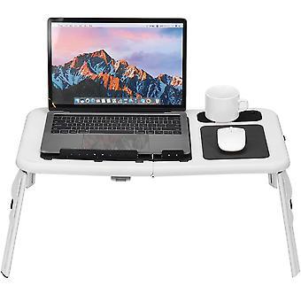 Składane biurka komputerowe chłodzące z wentylatorem wielokątnym regulacyjnym łóżko do notebooka sofy do pracy w biurze domowym