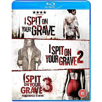 I Spit On Your Grave Trilogy Blu-Ray