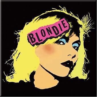Blondie Punk Logo Fridge Magnet
