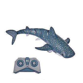 2.4G дистанционного управления акулы рыба лодка игрушка 1:18 высокой моделирования rc лодка игрушка бассейн купания воды rc корабль игрушка значение
