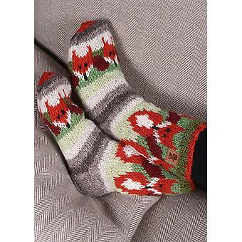 Ladies Skulk of Foxes Sofa Socks