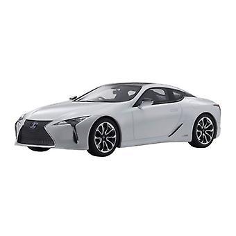 Lexus LC500H White 1:18 Scale Kyosho KSR18024W