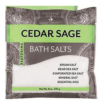 Soothing Touch Bath Salt, Cedar 8 Oz