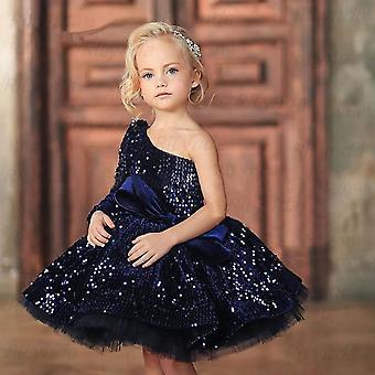 Dievčatá Elegantné kvetinové šaty, Princezná Party šaty
