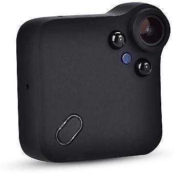 Tukisilmukan tallennus minikamera teräväpiirtovideo-WiFi-liitäntään, joka soveltuu sisä- ja ulkokäyttöön (musta)