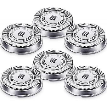6 Packs Sh30 Replacement Head Razor Replacement Heads