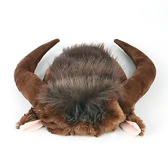 Pet Cosplay Costume Cane Cow Hat