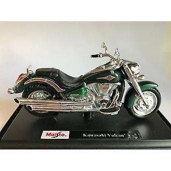 Maisto Special Edition Motorbike 1:18  Kawasaki Vulcan Green