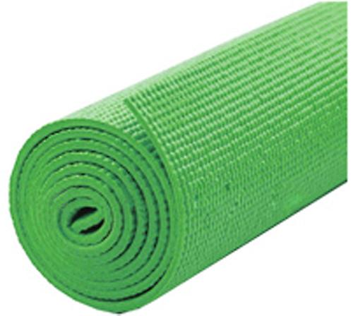 Kabalo - 183cm long x 61cm wide - Non-Slip Yoga Mat with carry strap, also for Exercise / Gym / Camping, etc (Green)