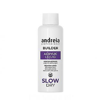 Traitement pour ongles Professional Builder Acrylique Liquide Slow Dry Andreia (100 ml)