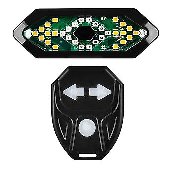 Usb Bike Rear Led Tail Light Warning Turn Signal With Remote