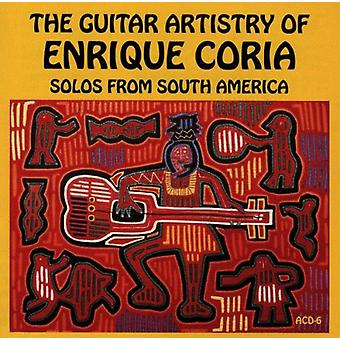 Enrique Coria - Guitar Artistry-Solos From Sou [CD] USA import
