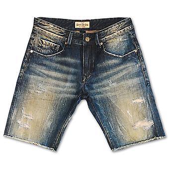 Rivet De Cru Vapor Blue Denim Shorts