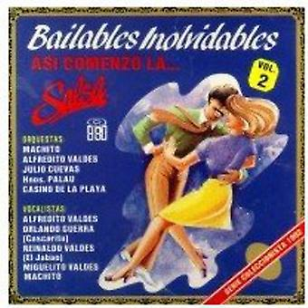 Bailables Inolvidables - Vol. 2-Bailables Inolvidables [CD] USA import