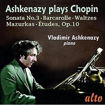 Vladimir Ashkenazy (Piano) - Chopin: Etyder Op. 10 Sonata Nr 3 Wal [CD] USA import