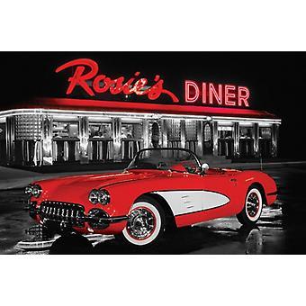 Rosies Diner Poster Print (36 x 24)