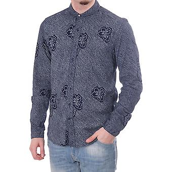 Scotch & Soda Refined Ls Shirt With Allover Spot Floral Print