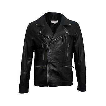 Attitude Clothing Leather Biker Jacket