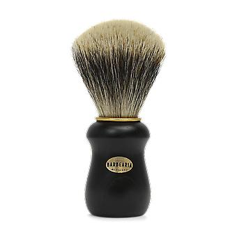 Antiga Barbearia de Bairro Gold and Black Shaving Brush