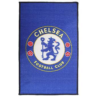 Chelsea FC oficial impresso tapete de crista de futebol