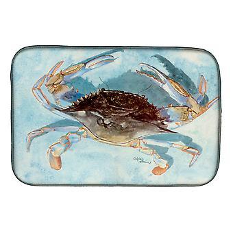 Carolines Treasures  8011DDM Blue Crab Dish Drying Mat