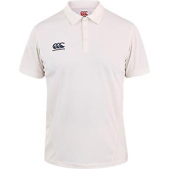 Canterbury Mens Wicking CCC Logo Cricket Polo Shirt
