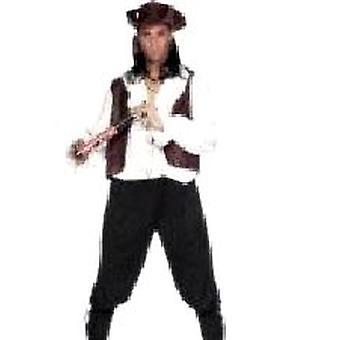Piraat Deluxe kostuum